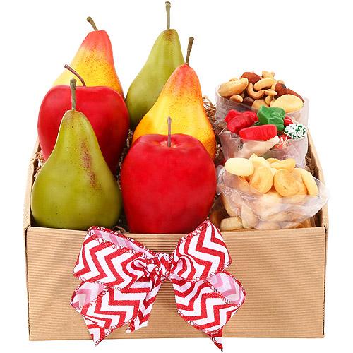 Alder Creek Festive Fruits & Treats Gift Basket
