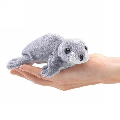 Mini Monk Seal Finger Puppet by Folkmanis - 2757