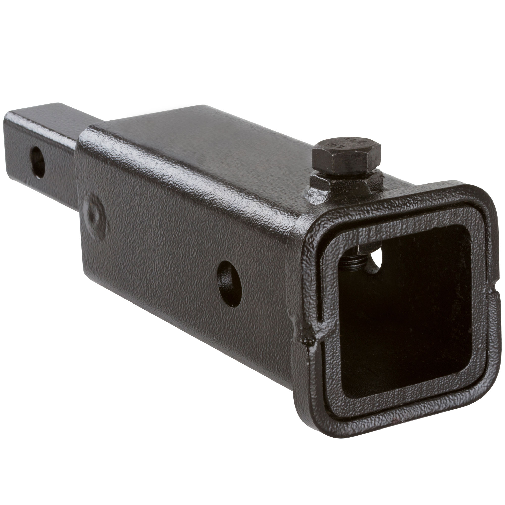 "1-1/4"" to 2"" Trailer Hitch Extension Adapter with Anti-Tilt Bolt"