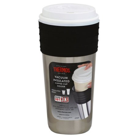 Thermos LLC, Thermos Vacuum Insulated Coffee Cup Holder, 1 cup