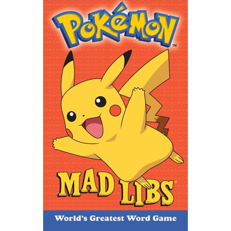 Pokemon Mad Libs (Paperback)