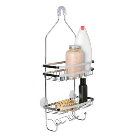 Bath Bliss Venice Shower Caddy in Chrome
