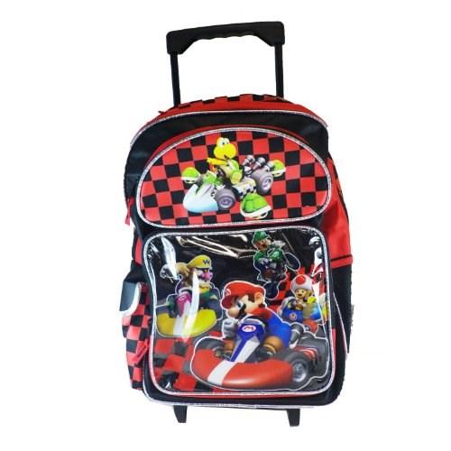 Mario Kart Wii Large Roller Backpack