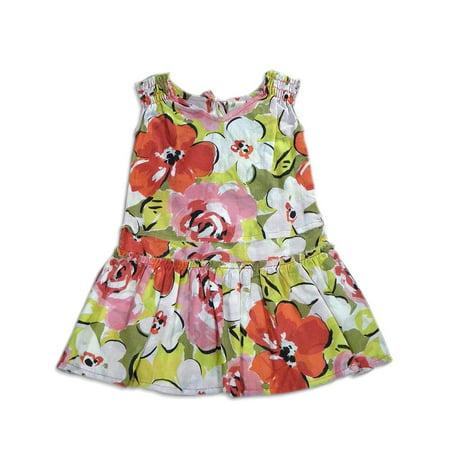 Queen Bee - Little Girls Floral Dress PINK / - Queen Bee Dress