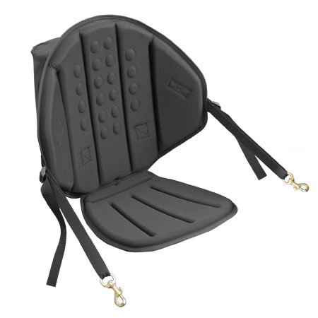 Tall Back Classic Molded Foam Kayak Seat with Zipper Pack, Universal Sit On Top Kayak Seat, Surf To Summit Kayak Seat, Kayak Seat (Best Lightweight Summit Pack)