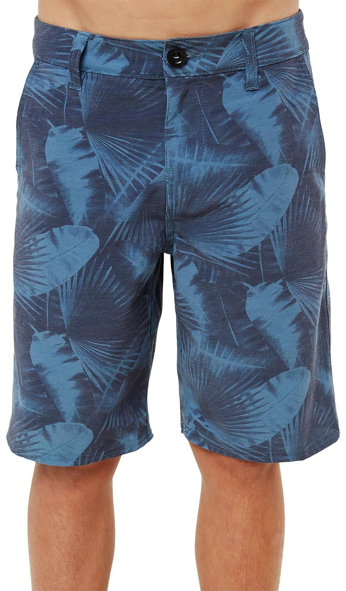 ONeill Big Boys Palm Collective Hybrid Shorts