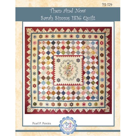 Dog Quilt Patterns (Then and Now Sarah Simms 1816 Quilt Pattern by P3)
