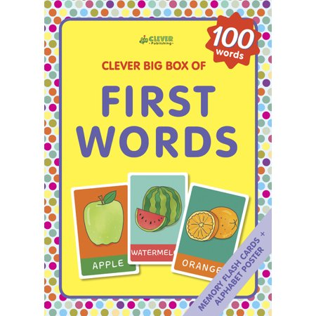 First Words : Memory flash cards - Clever Halloween Words