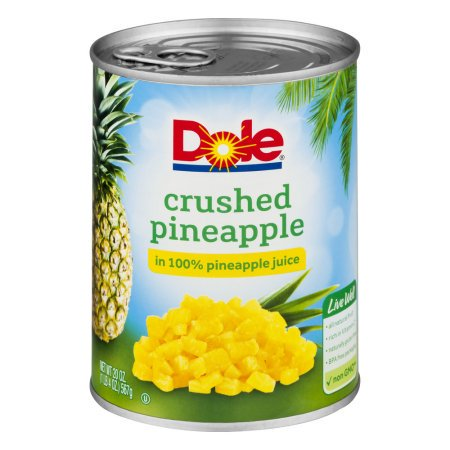 Crushed Pineapple In 100% Pineapple Juice (Crushed Pineapple)