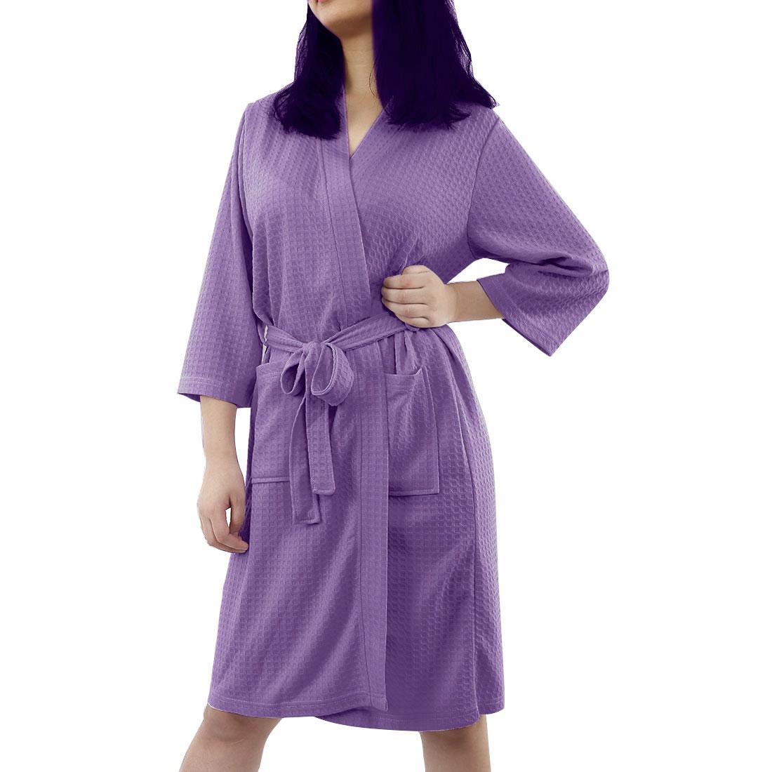 Violet Robe Black kimono robe Bamboo Robe jersey robes floral bridal robes Luxury Robe bath robe Nursing sleepwear Bamboo Knit Robe
