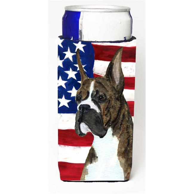 Usa American Flag With Boxer Michelob Ultra s For Slim Cans - 12 oz. - image 1 of 1
