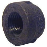 Pannext Fittings B-CAP05 Black Pipe Cap - 0.5 in.