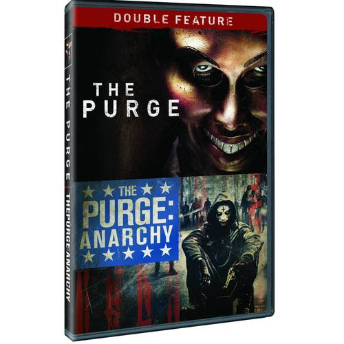 PURGE/PURGE-ANARCHY DOUBLE FEATURE (DVD)