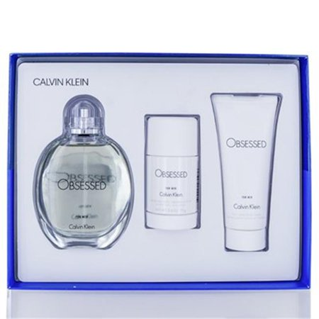 Calvin Klein OBEM1B-W Obsessed Gift Set for Men (Calvin Klein Obsession For Men Gift Set)