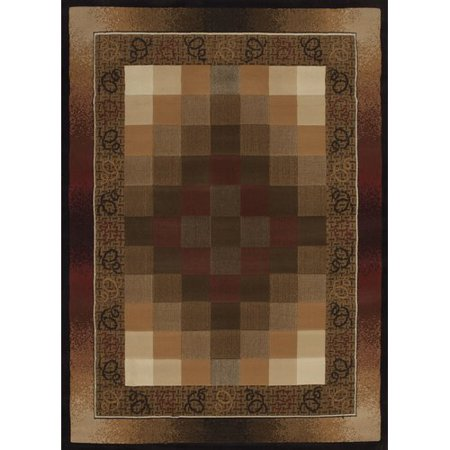 United Weavers of America China Garden Piazza Linen Rug