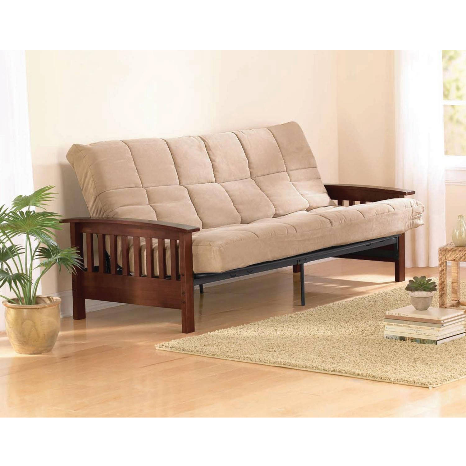 Better Homes and Gardens Neo Mission Futon, Brown