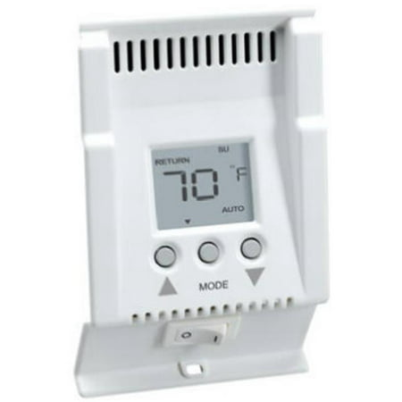 CADET MANUFACTURING CO SmartBase Programmable Baseboard Thermostat, White 03400