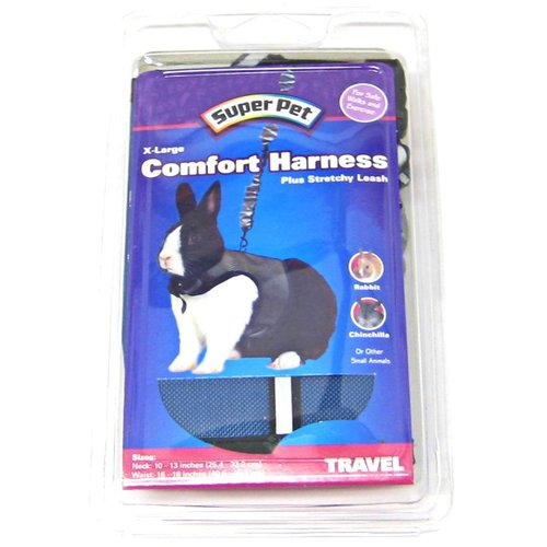 Super Pet Comfort Harness Plus Stretchy Leash - Assorted Colors