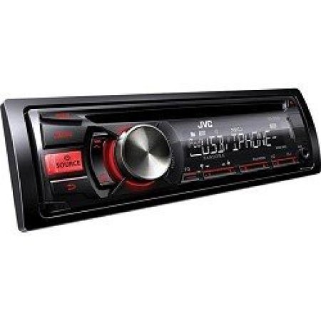jvc kdr540 cd car receiver built in hd radio 200w front aux. Black Bedroom Furniture Sets. Home Design Ideas