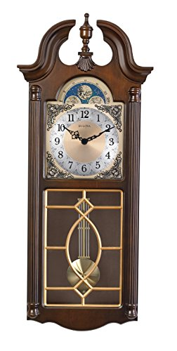 Bulova Chadwick Chiming Wall Clock 1125 in Wide Walmartcom