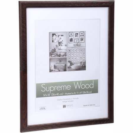 Timeless Frames® Supreme Wood Espresso 14\