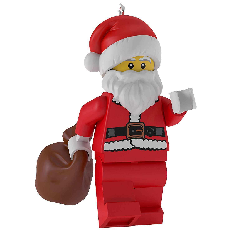 Hallmark Keepsake 2019 Lego Santa Christmas Ornament New ...