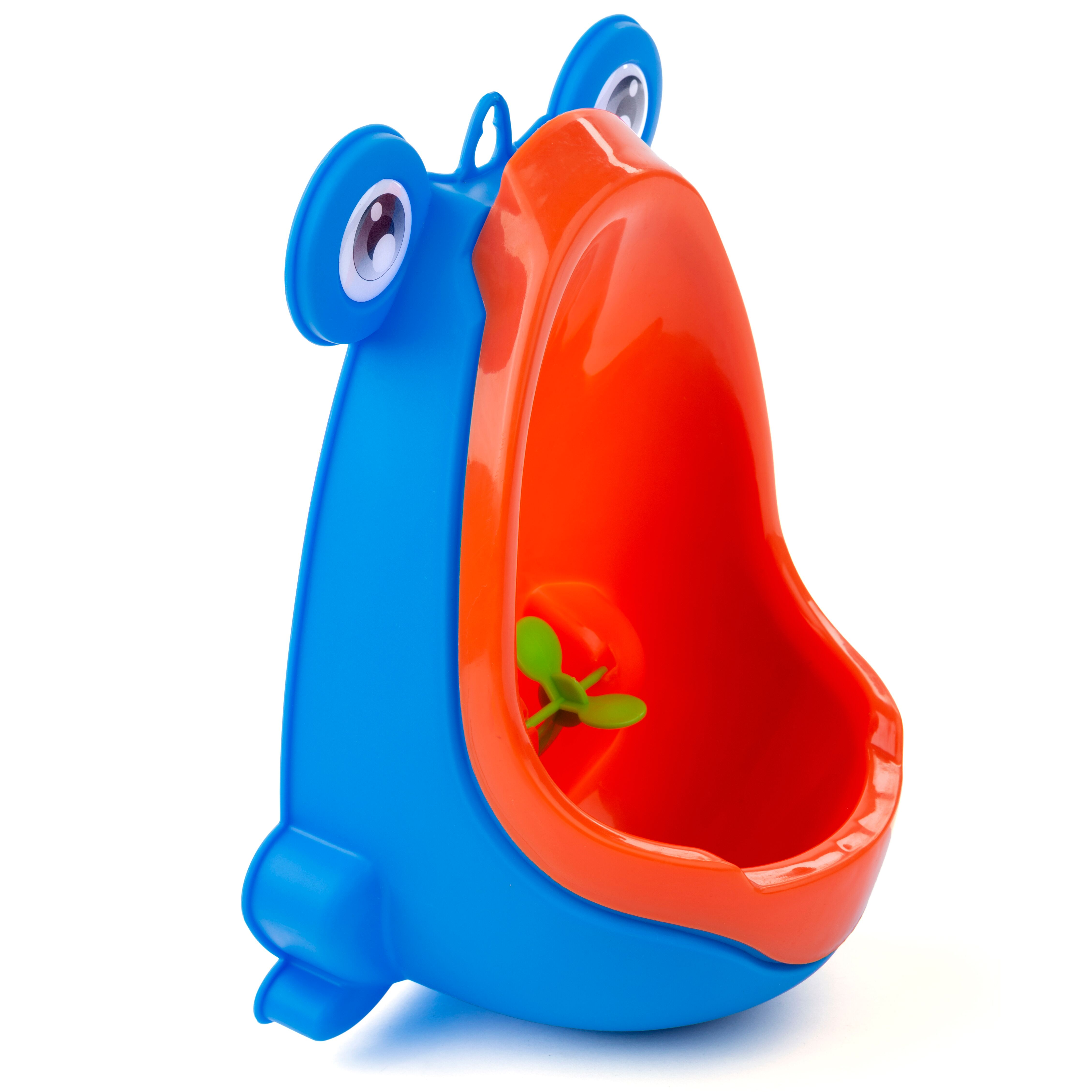 Potty Training Baby / Toddler Urinal with Aiming Target - Blue Frog