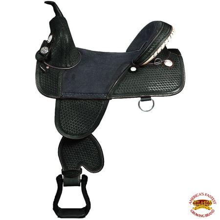 Leather Jumping Saddle - 17