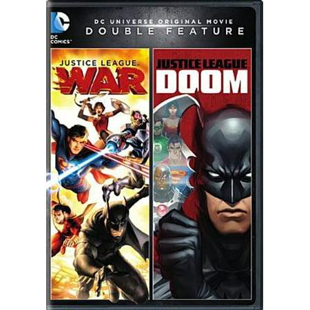 Justice League Doom Justice League War Dvd Walmart Com
