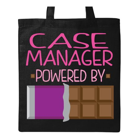 Case Manager Funny Gift Tote Bag Black One Size