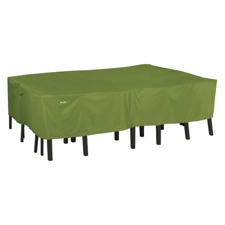 Clic Accessories Sodo Rectangular Oval Patio Table Chair Set Cover Tough And