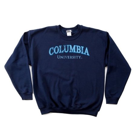 10 Ounce Crewneck Sweatshirt - SDI NCAA Columbia Lions 50/50 Blended 8-Ounce Vintage Arch Crewneck Sweatshirt, 3X-Large, White