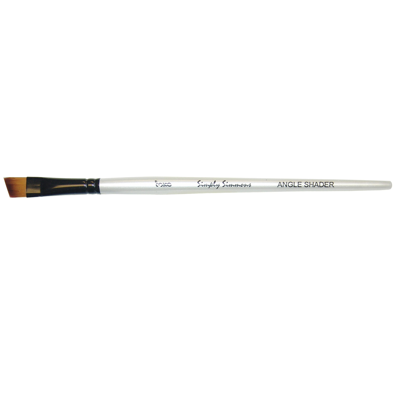 Simply Simmons Angled Shader Brush 3//8