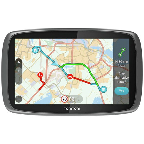 TomTom GO 60S 6-inch Automotive GPS w  US, CANADA & MEXICO Maps by TomTom
