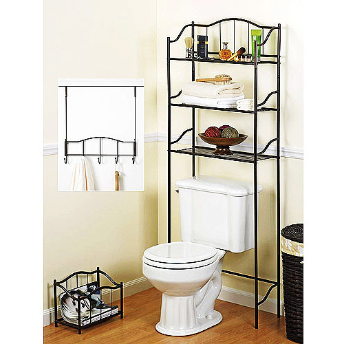 3 Piece Complete Bath Storage Set