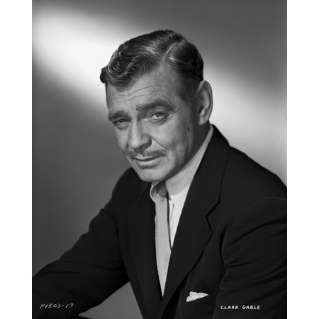 Clark Color Photo (Clark Gable In Suit And Tie Photo)
