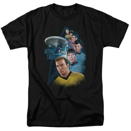 Star Trek Among The Stars Mens Short Sleeve (X-men Star Trek)