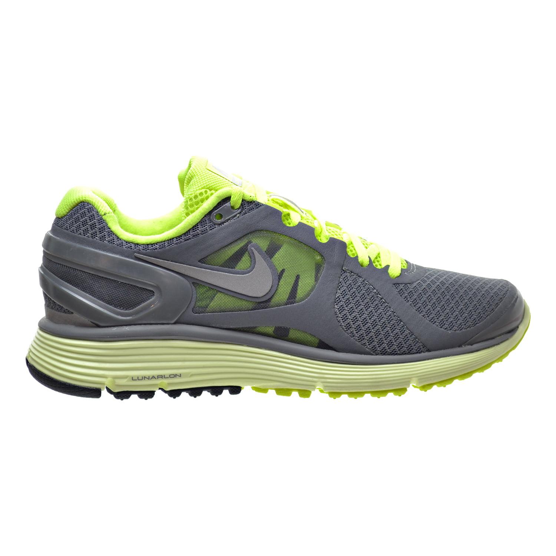 Nike Lunar Eclipse +2 Women's Shoes Grey/Silver/Volt 4879...