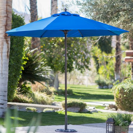 Coral Coast 9-ft. Sunbrella Commercial Grade Aluminum Wind Resistant Patio