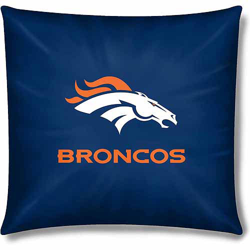 "Broncos Official 15"" Toss Pillow"
