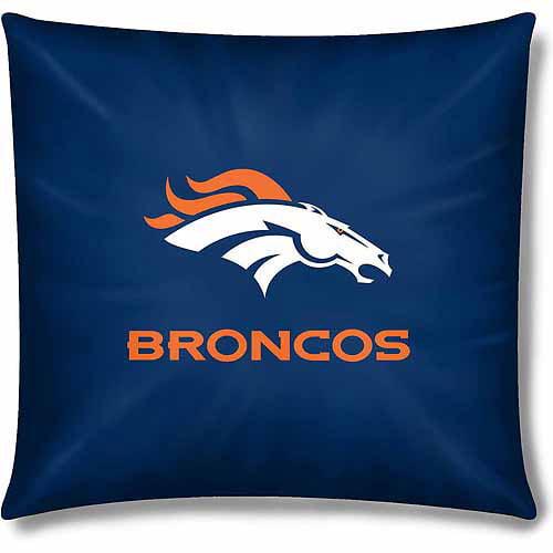 """NFL Broncos Official 15"""" Toss Pillow"""