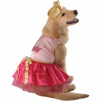 Princess Pup Halloween Pet Costume (Multiple Sizes Available)
