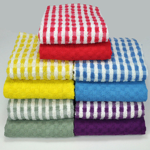 Aspire Linens Cotton Terry 10 Piece Towel Set