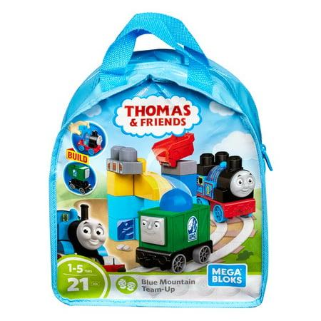 Mega Bloks Thomas & Friends Blue Mountain Team-Up Building