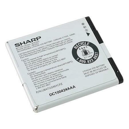 Original Microsoft Sharp Battery BTR1003 1240mAh 3.7VDC 4.6Wh For Sharp Kin One UBATI1046YCPZ (Non-Retail Packaging)