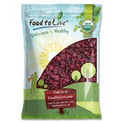Organic Dried Cranberries, 10 Pounds - Non-GMO, Unsulfured, Bulk - by Food to Live