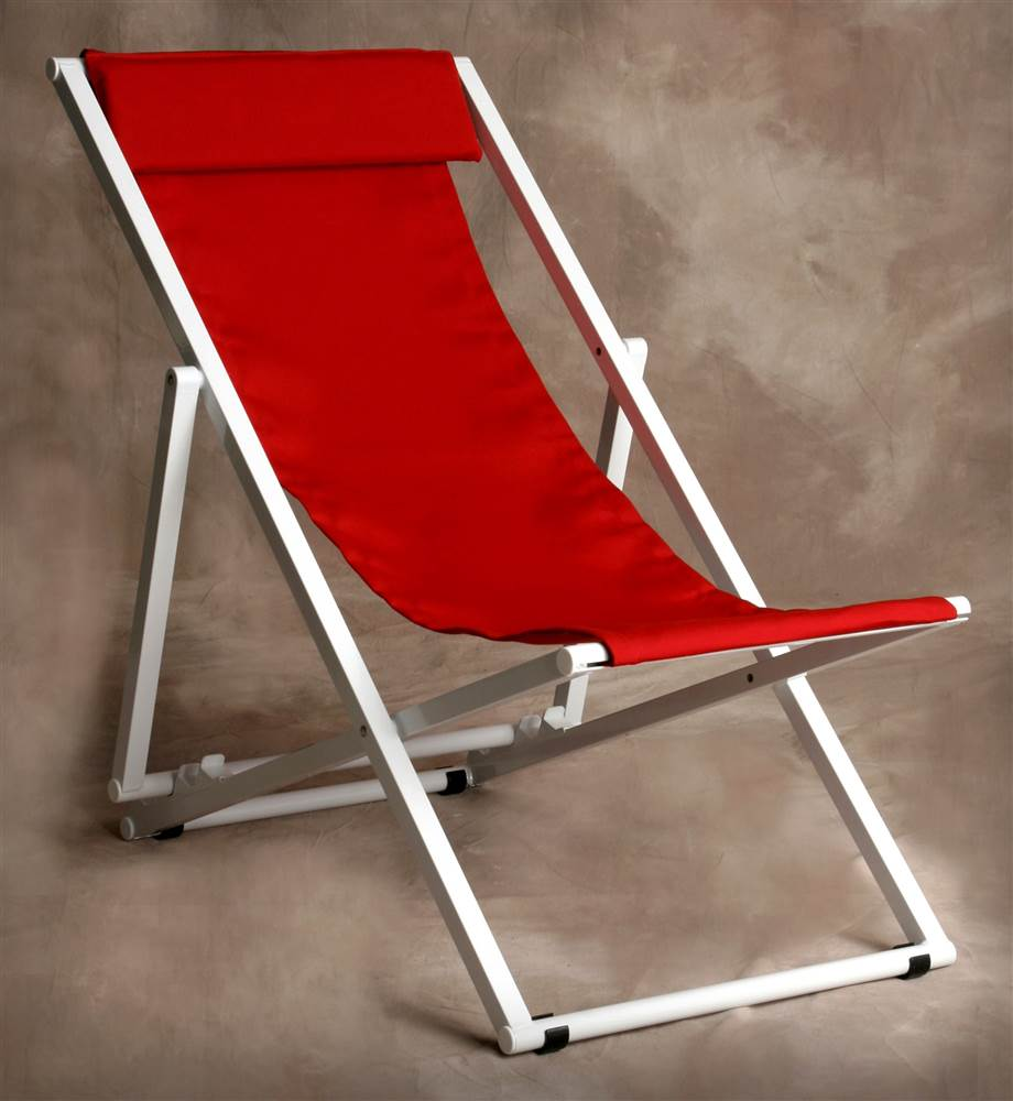 Jockey Red Adjustable Key West Lounge Chair
