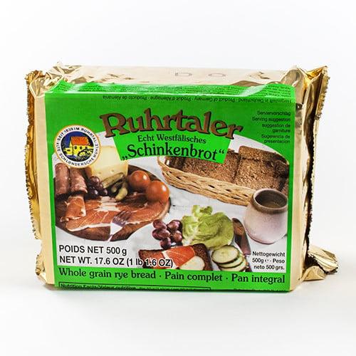 German Whole Grain Rye Bread by Ruhrtaler by