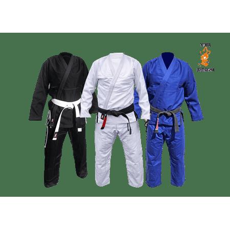 Jiu Jitsu GI - Brazilian Jiu Jitsu Premium Uniform Free BJJ Belt ()