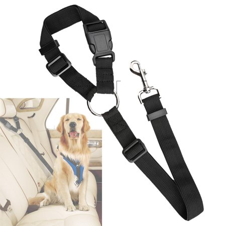 Adjustable Pet Leash Seat Belt Car Safety Lead for Dogs and Cats, Seatbelt Harness for all - Adjustable Seat Leash